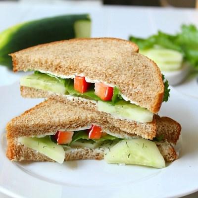 Cucumber Sandwich Farmhouse Fresh