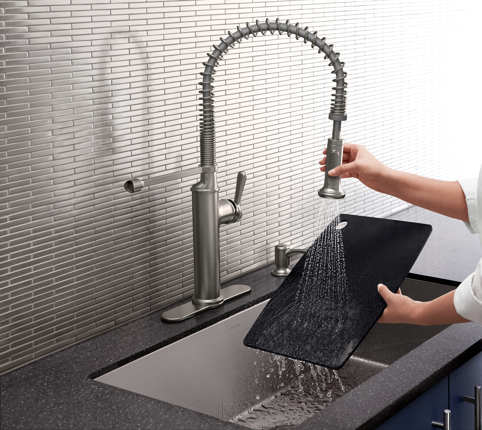 farmhouse kitchen faucet farmhouse faucet kitchen Look at this gorgeous farmhouse kitchen faucet by Kohler