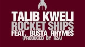 Talib Kweli – Rocket Ships (Ft Busta Rhymes) (Prod. by RZA)