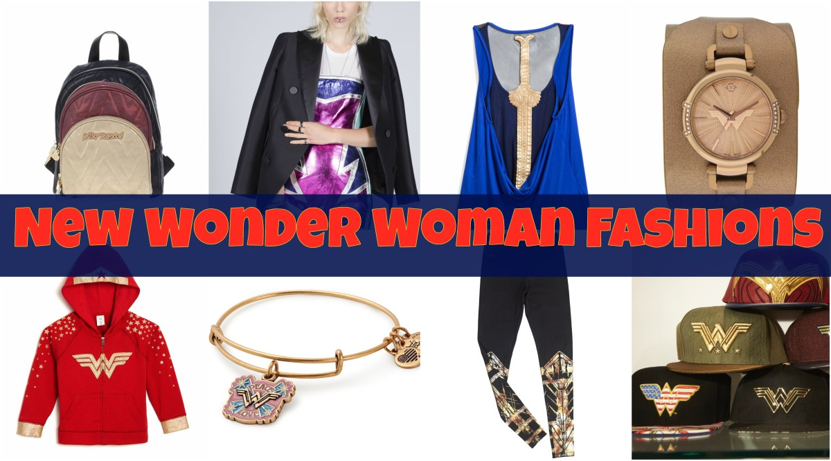 WB Consumer Products Announces Wonder Woman Clothing & Accessories Lines