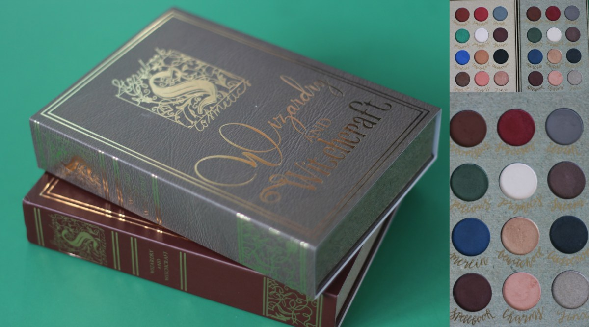 Geek Chic Beauty: Storybook Cosmetics Wizardry and Witchcraft Palette REAL Vs FAKE