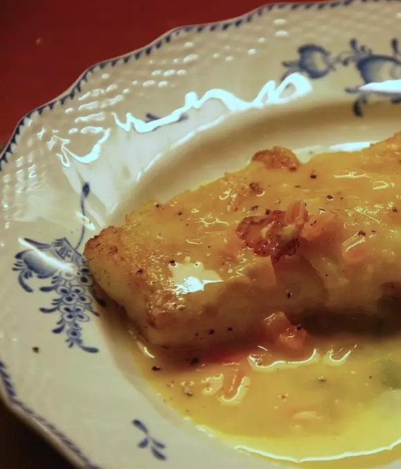 poisson sauce beurre blanc