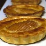 Tartelettes aux poires amandine