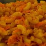 Coquillettes aux carottes façon risotto