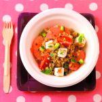 Taboulé de quinoa, pamplemousse et fêta