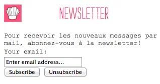 Inscription-Newsletter