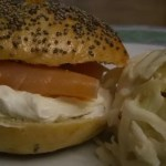 Bagels&lox (cream cheese/saumon fumé)