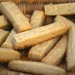 Shortbreads (biscuits sablés d'origine écossaise)