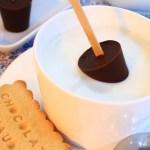 Sucettes de chocolat à faire fondre