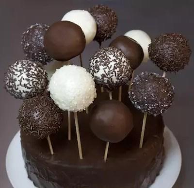 Gâteau de Cake Pops