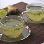 Infusion détox citron vert-gingembre-menthe