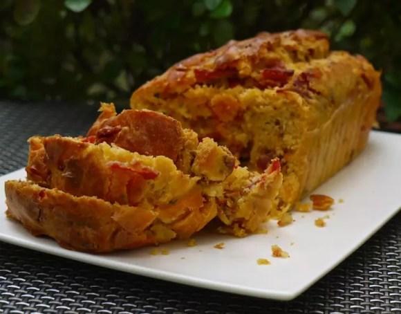 Cake Chorizo Tomate Cerise