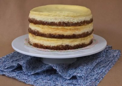 cheesecake trois couches sky-high
