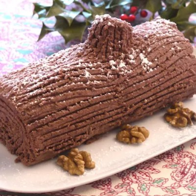 Bûche chocolat-marrons express