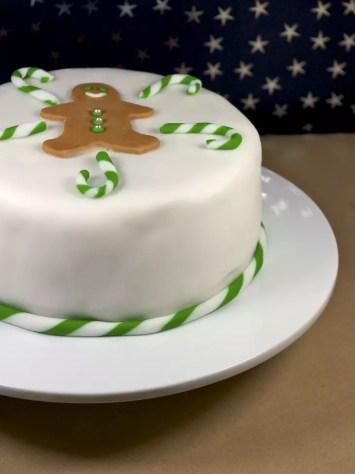 Christmas cake traditionnel anglais recette de no l for Pate a sucre decoration