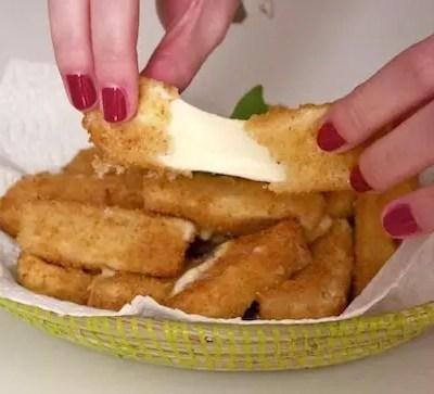 Beignets de mozzarella faciles
