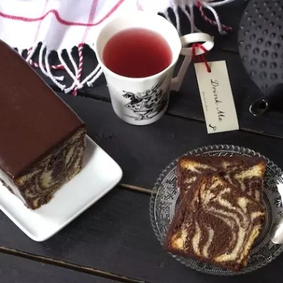 Cake marbré cacao vanille de François Perret