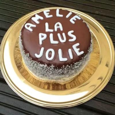 Gâteau chocolat -noix de coco d'Amélie