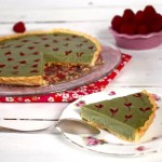 tarte-the-matcha-framboise