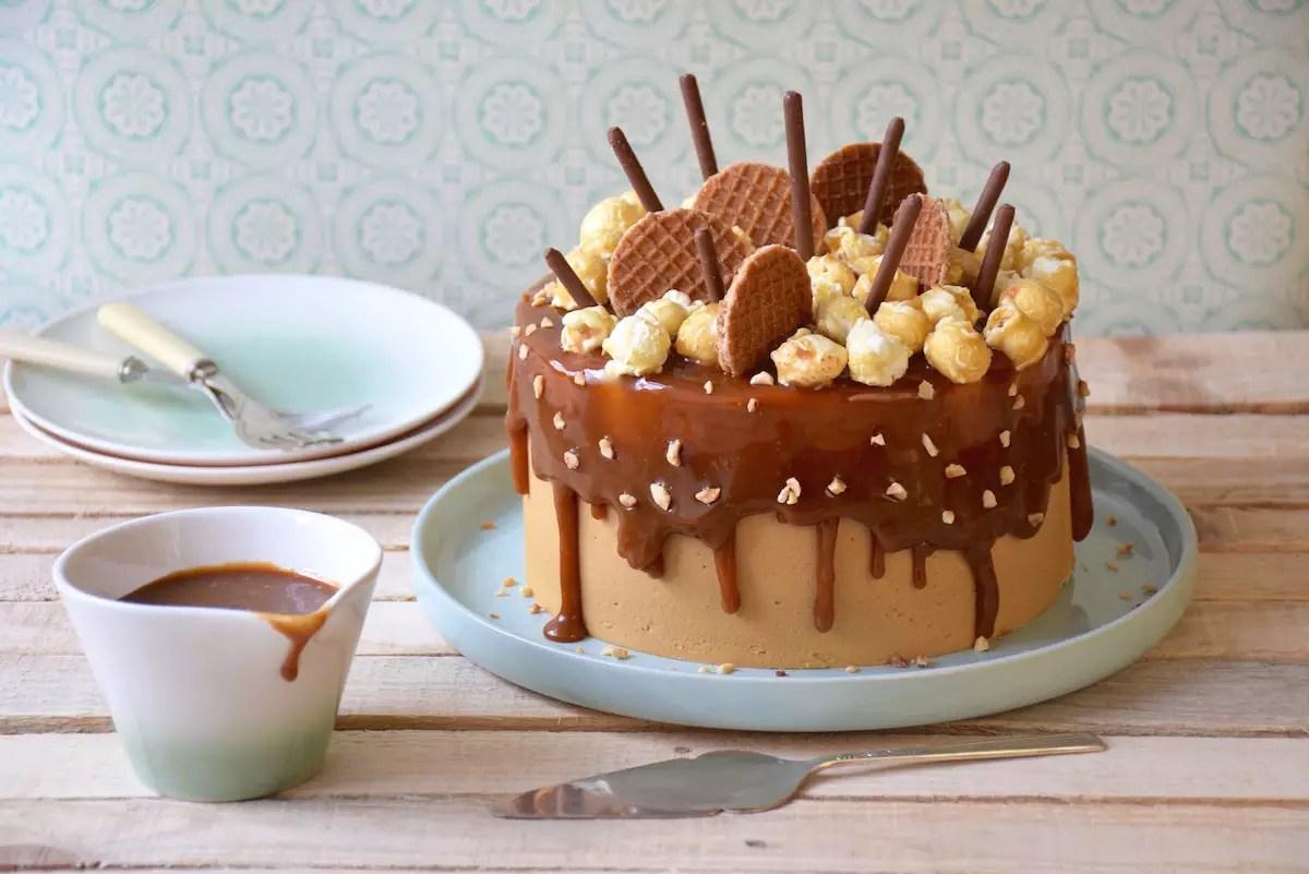 layer-cake-chocolat-caramel-chicoree