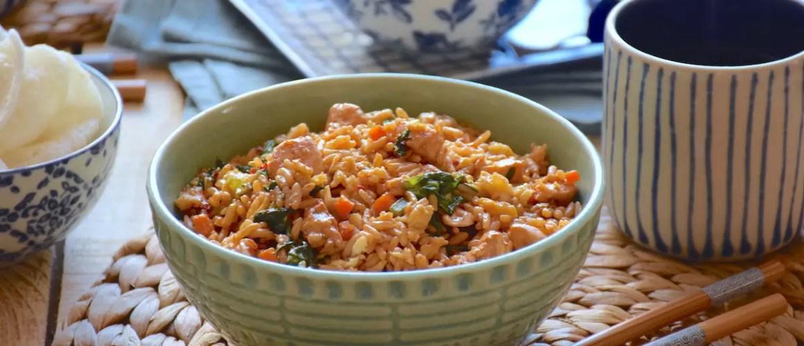 Rêve de Bali – Nasi goreng ayam (riz frit balinais au poulet)