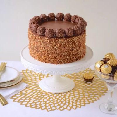 Parfait gâteau Ferrero Rocher