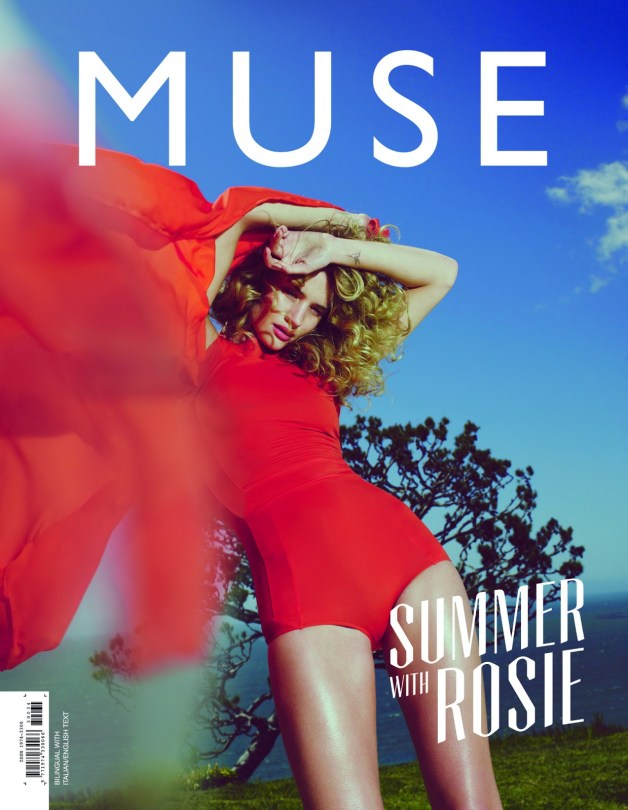 Rosie Huntington-Whiteley by Guy Aroch Muse Cover