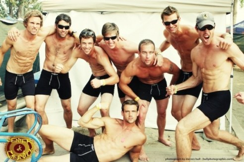 TAYLOR HITCH is the ambassador of SAXX the evolution of mens  underwear on FDM fashiondailymag.com...