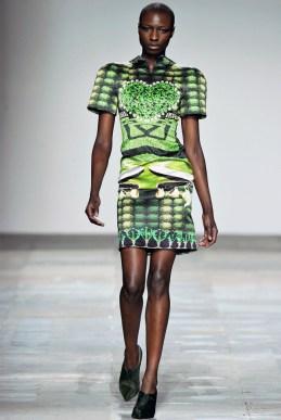 Mary Katrantzou Fall 2012 | London Fashion Week