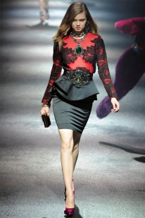 Lanvin Fall 2012 | Paris Fashion Week