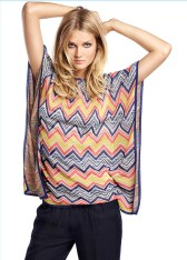 Toni Garrn Models Oui Spring/Summer 2013 Collection