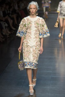 Dolce & Gabbana Spring 2014 | Milan Fashion Week