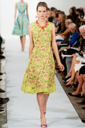 Oscar de la Renta Spring 2014 | New York Fashion Week