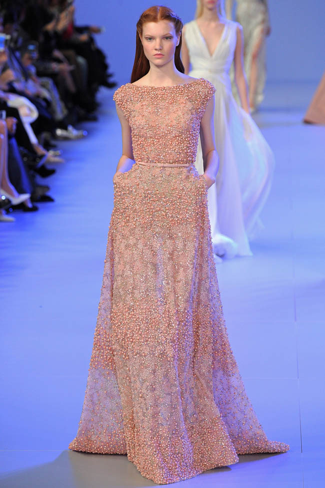 Elie saab haute couture spring summer 2014 for Haute couture show