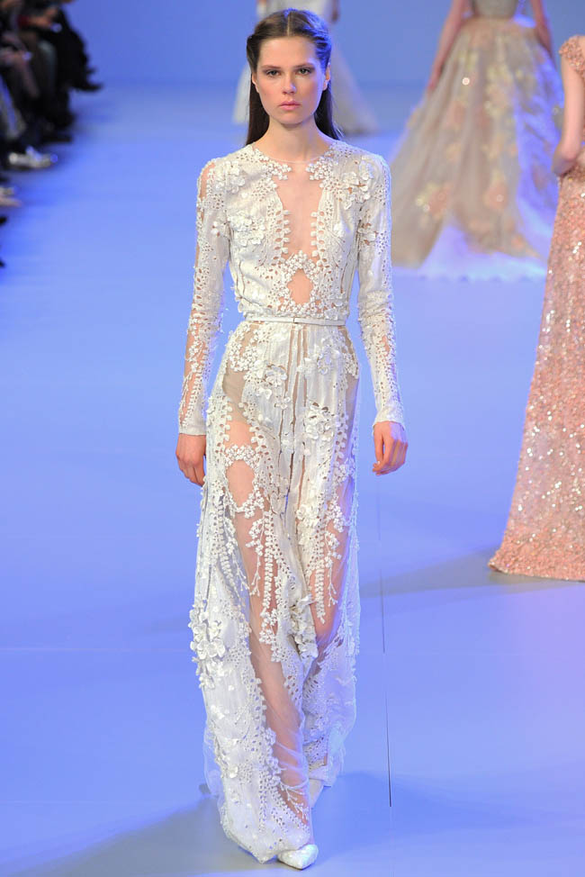 Elie saab haute couture spring summer 2014 for Haut couture