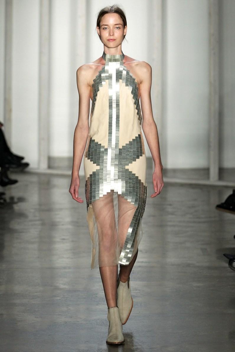 Dion LeeWomenswear Fall Winter 2014 New York Fashion Week February 2014