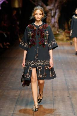 Dolce & Gabbana Fall/Winter 2014 | Milan Fashion Week