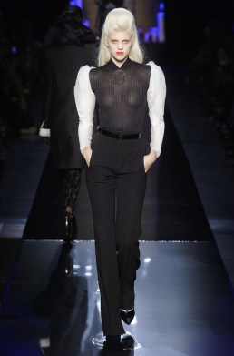 Jean Paul Gaultier Sends Vamps Down the Runway for Fall Couture