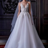 Monique Lhuillier Embraces Fantasy for Spring Bridal Line