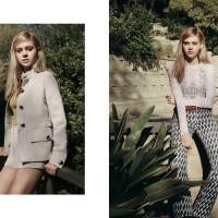 Nicola Peltz Wears Spring Neutrals for InStyle Feature