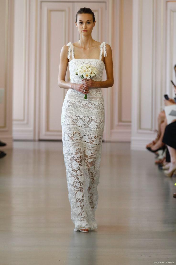 wedding dress trends trending wedding dresses Oscar de la Renta Spring Bridal Collection