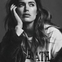 Doutzen Kroes Takes on Casual Looks for Twin Editorial