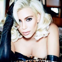 Kim Kardashian Goes Marilyn Monroe for Vogue Brazil Cover