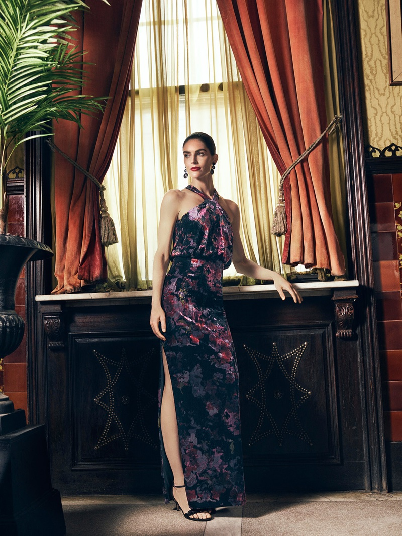 Outstanding Hilary Rhoda Dazzles Dresses Taylor Dresses Lord Taylor Hilary Rhoda Lord Taylor Fall Winter 2017 Style Guide Lord Taylor Clothing Lord Wedding Guests wedding dress Lord  Taylor Dresses