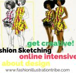 Online Fashion School fashion illustration tribe