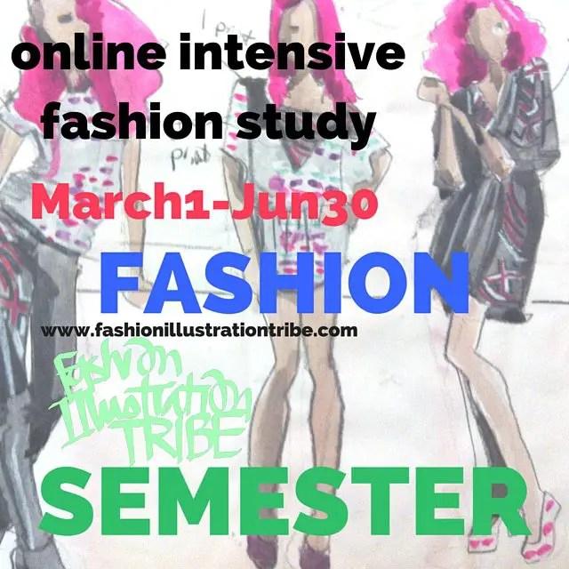 Study Fashion Illustration Online