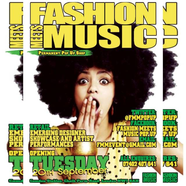 FashionMeetsMusic is back in Camden at TheStables launching a permanenthellip