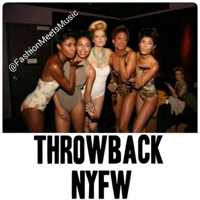 Throwback NYFW NewYork FashionMeetsMusic Runway Music MusicMeetsFashion Models Magic Fashionhellip