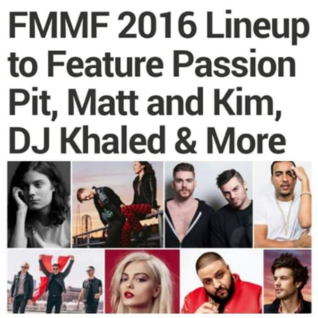 Do you have your tickets yet for the 2016 FashionMeetsMusichellip