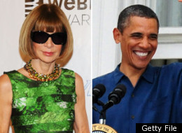 s OBAMA ANNA WINTOUR large Anna Wintour Hosted a Fundraiser for Prez Obama